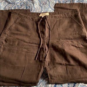 💯 % linen pants